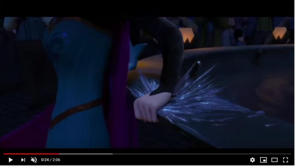 アナと雪の女王のシーン2