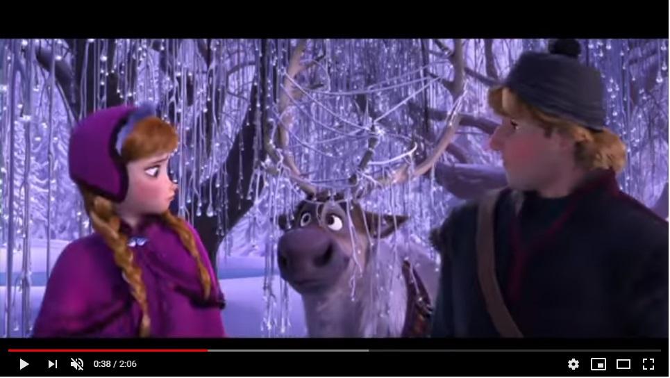 アナと雪の女王のシーン3