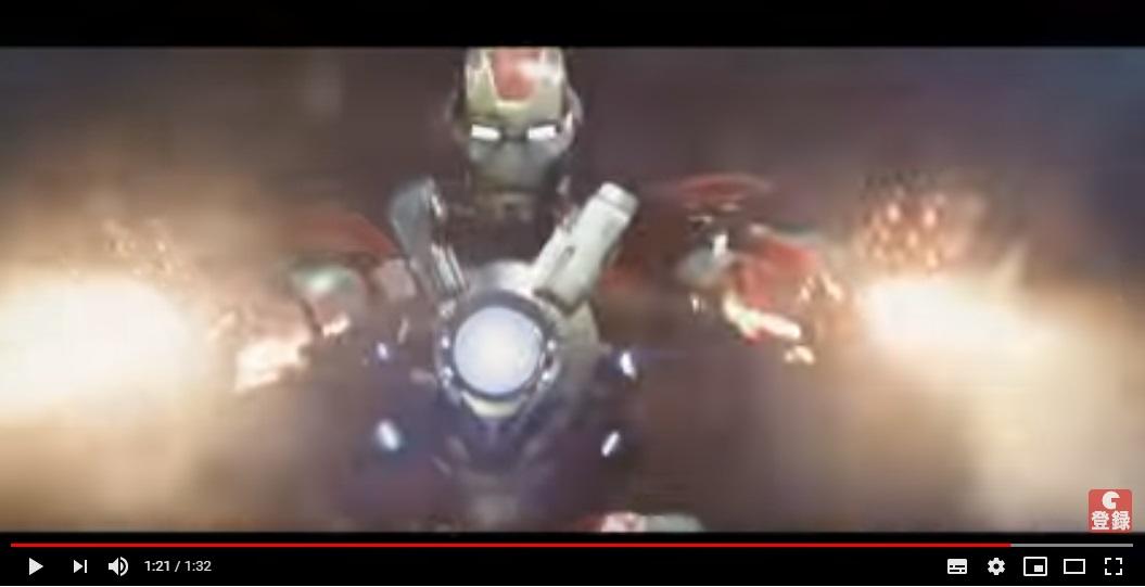 アイアンマン3のシーン2