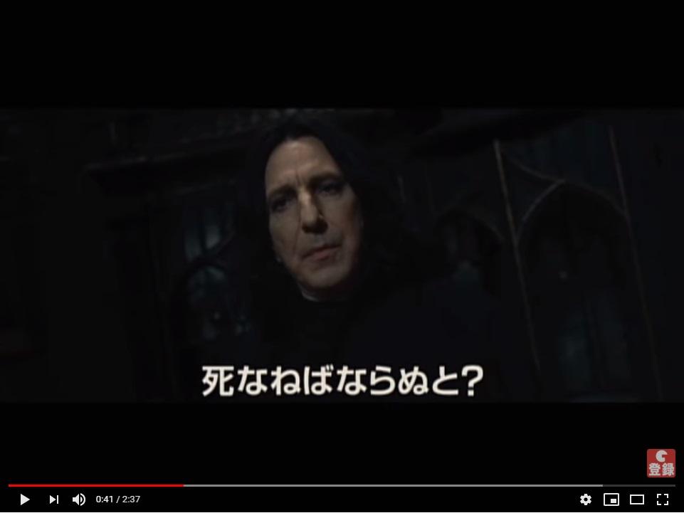 ハリーポッターと死の秘宝(PART2)8完結のシーン2