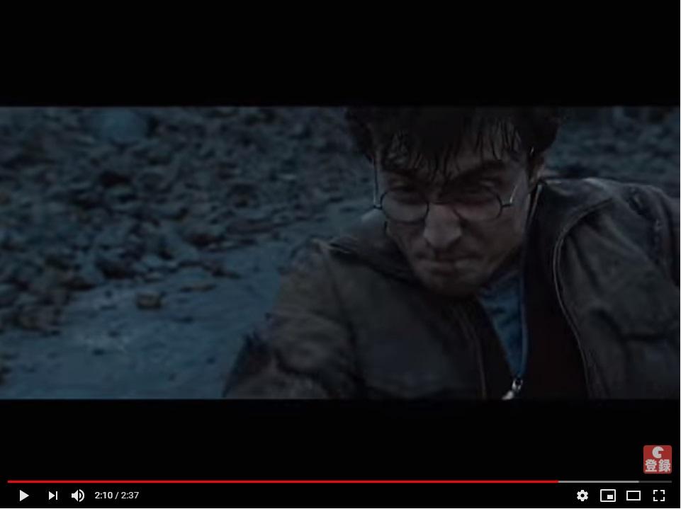 ハリーポッターと死の秘宝(PART2)8完結のシーン4