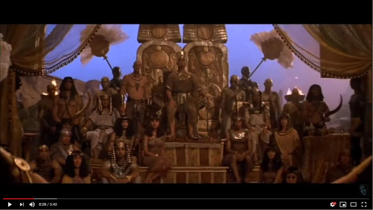 ハムナプトラ2 黄金のピラミッドのシーン1