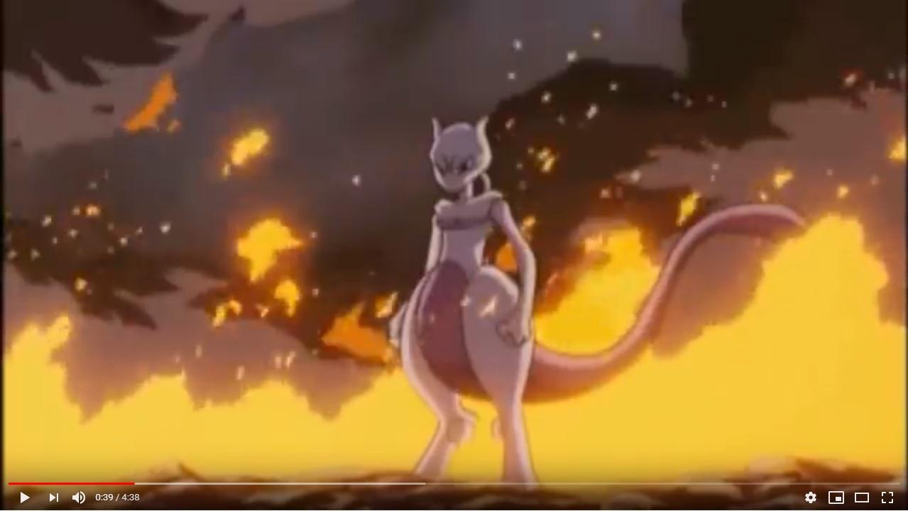 劇場版ポケットモンスターミュウツーの逆襲のシーン2
