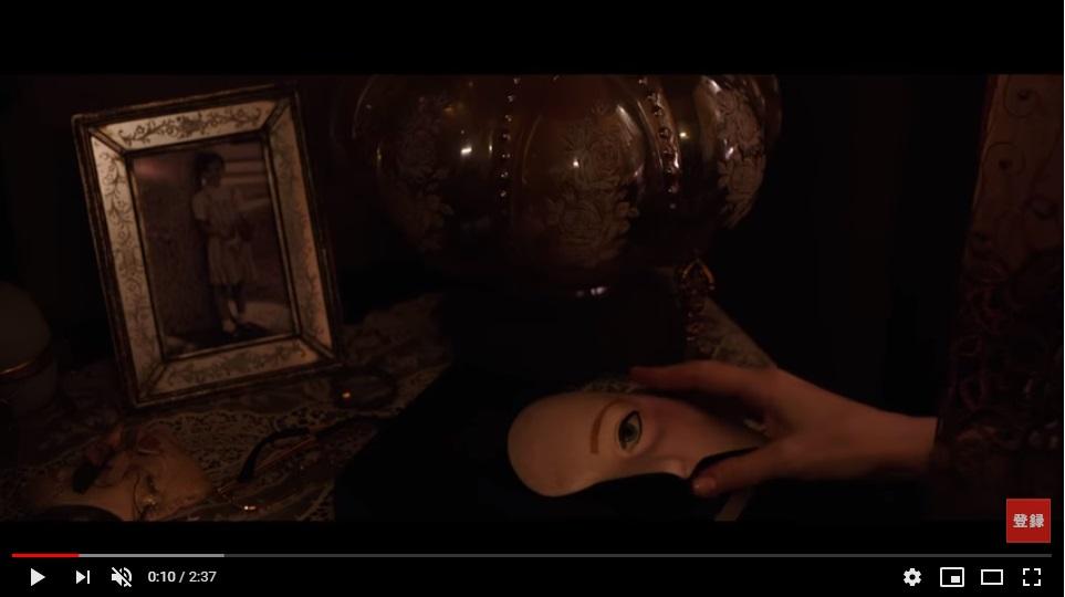 アナベル死霊人形の誕生のシーン1