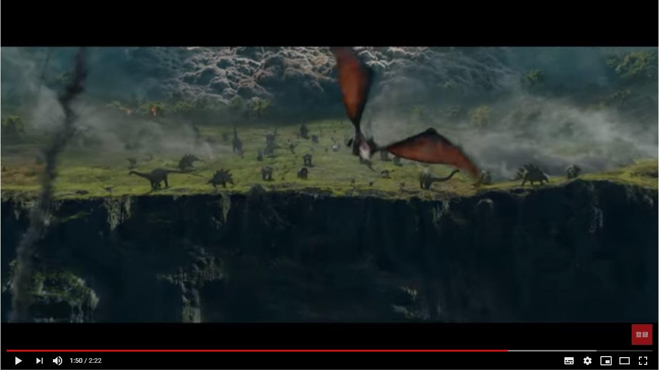 ジュラシックワールド2 炎の王国のシーン2