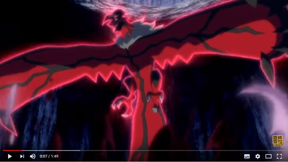 ポケモンザムービーXY17破壊の繭とディアンシーのシーン1