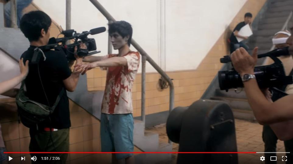 カメラを止めるなのシーン2