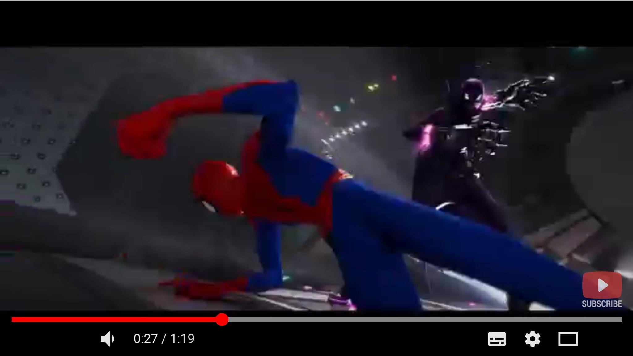 スパイダーマン:スパイダーバースのシーン2