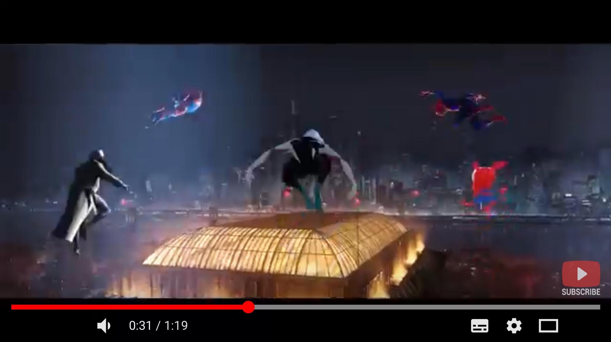 スパイダーマン:スパイダーバースのシーン3