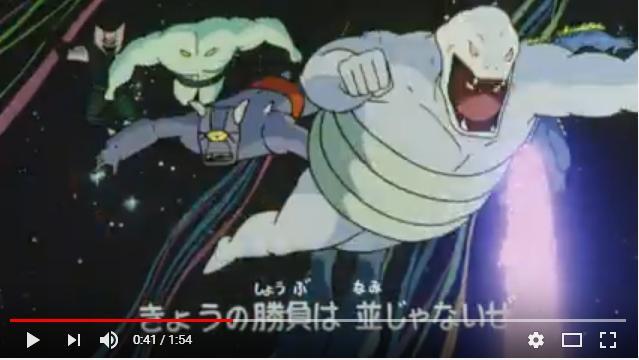 キン肉マン 正義超人vs古代超人のシーン2