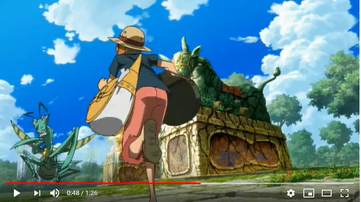 ONE PIECE FILM STRONG WORLDのシーン2