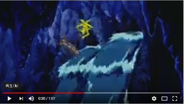 ONEPIECETHEMOVIEカラクリ城のメカ巨兵のシーン2