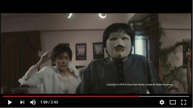 ポリスストーリー香港国際警察のシーン2