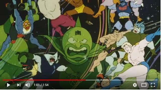 キン肉マン 正義超人vs古代超人のシーン3