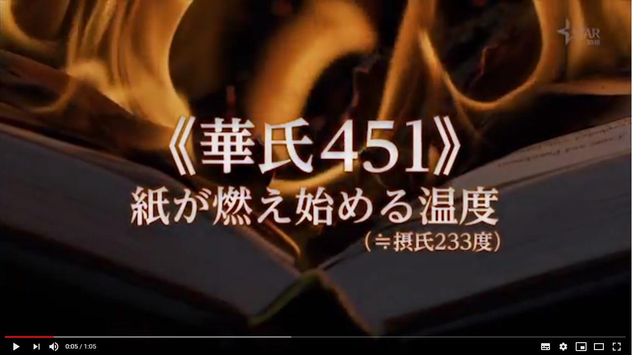 華氏451(2018年)のシーン1