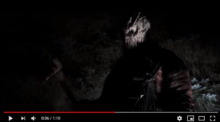 鬼畜の森ゴアマスクファーマーのシーン3