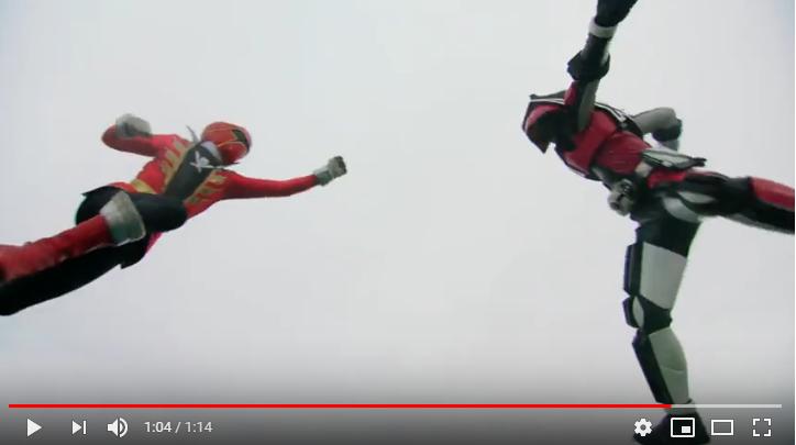 仮面ライダー×スーパー戦隊 スーパーヒーロー大戦のシーン3