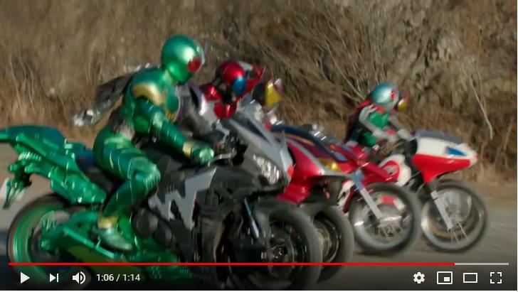 仮面ライダー×スーパー戦隊 スーパーヒーロー大戦のシーン2