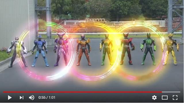 劇場版仮面ライダーオーズWONDERFUL将軍と21のコアメダルのシーン2