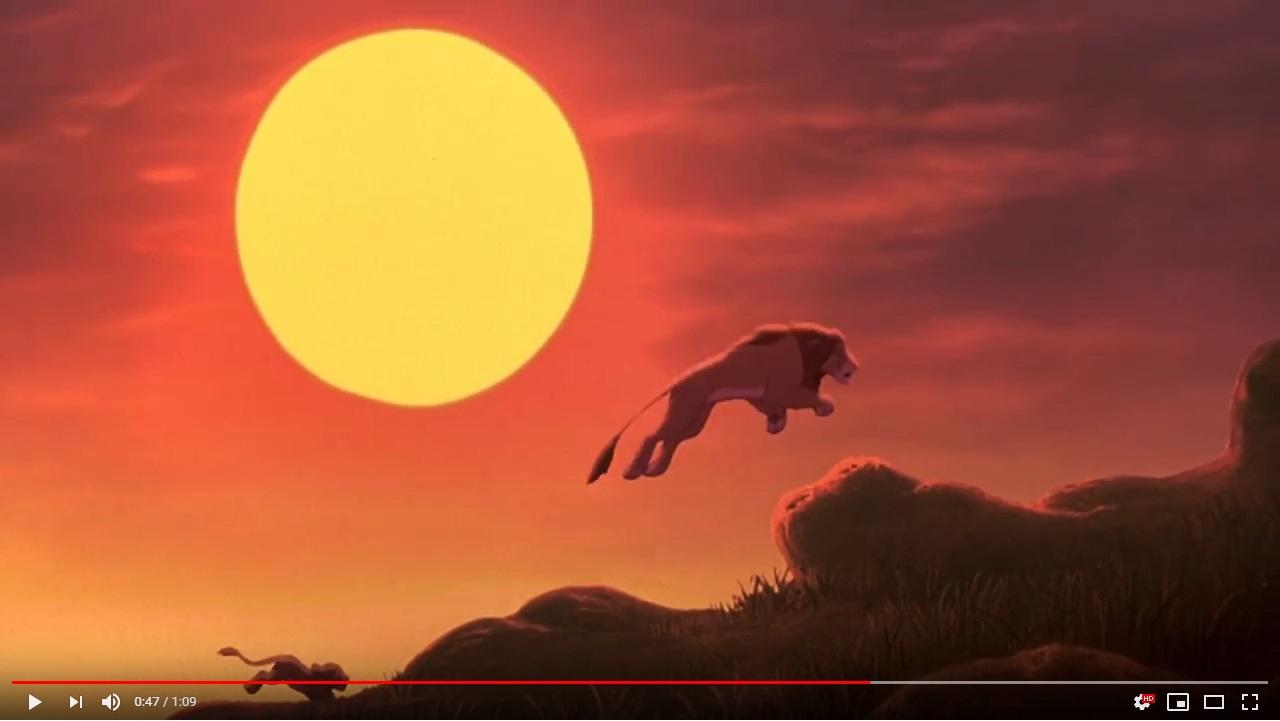 ライオンキング2シンバズプライドのシーン3