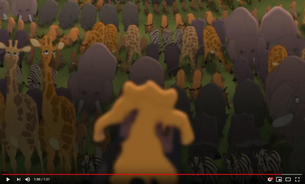 ライオンキング3ハクナマタタのシーン2