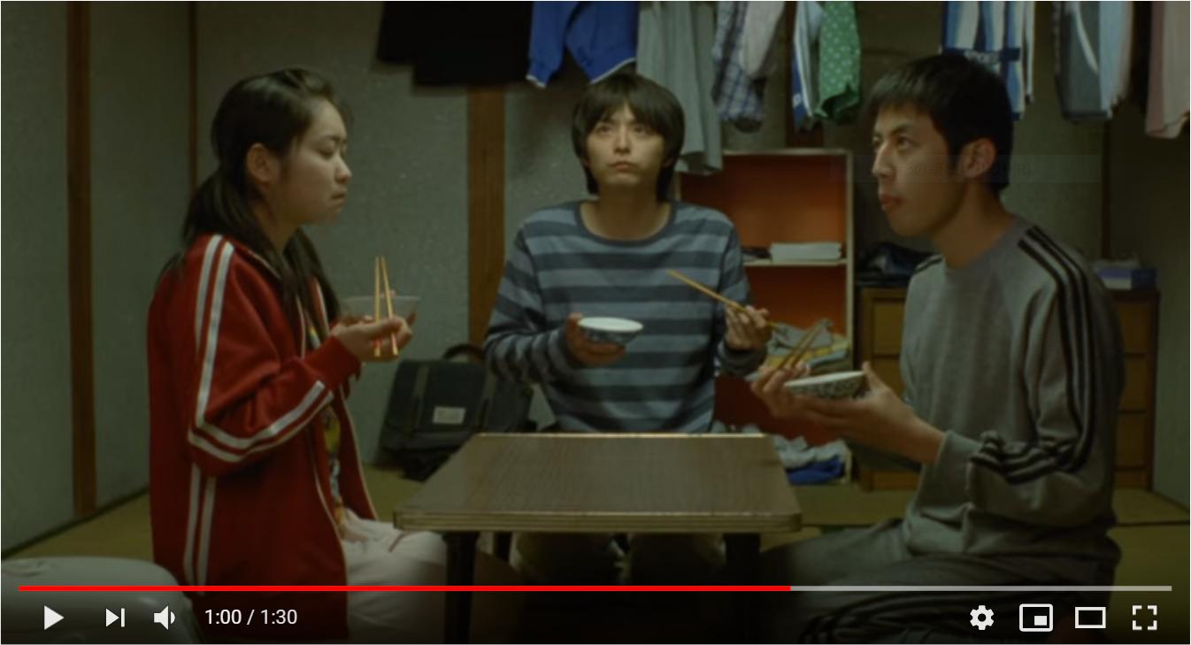 ホームレス中学生のシーン3