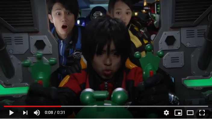 特命戦隊ゴーバスターズ THE MOVIE 東京エネタワーを守れ!のシーン1