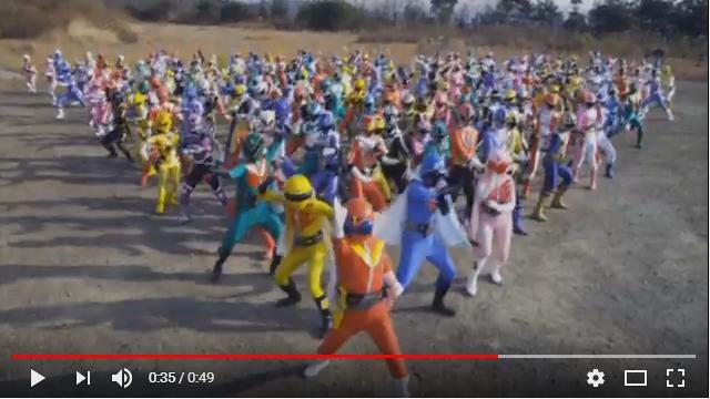 ゴーカイジャー ゴセイジャー スーパー戦隊199ヒーロー大決戦のシーン1