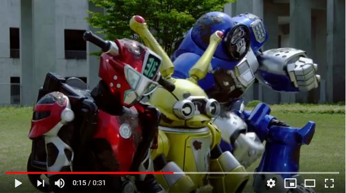 特命戦隊ゴーバスターズ THE MOVIE 東京エネタワーを守れ!のシーン2