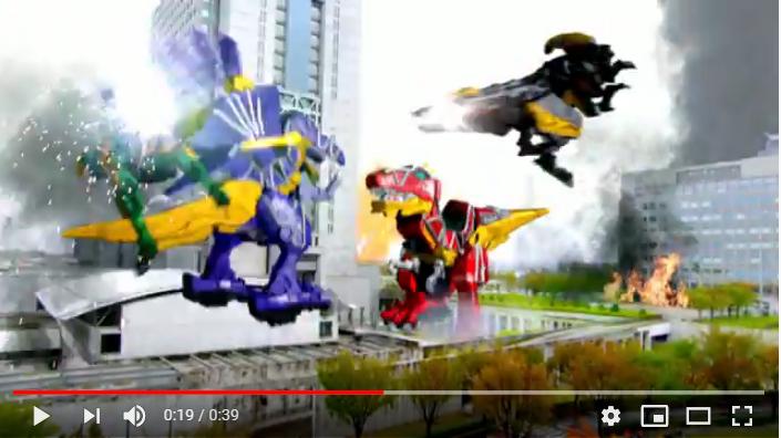 劇場版獣電戦隊キョウリュウジャーガブリンチョオブミュージックのシーン3