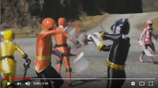 ゴーカイジャー ゴセイジャー スーパー戦隊199ヒーロー大決戦のシーン3