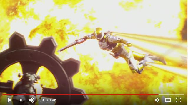 仮面ライダーWRETURNS仮面ライダーアクセルのシーン2