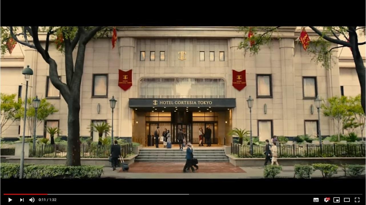 マスカレードホテルのシーン1