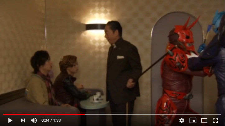オーズ電王オールライダーレッツゴー仮面ライダーのシーン1