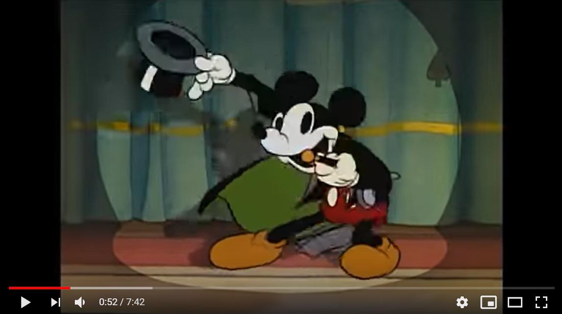 ミッキーの魔術師のシーン1