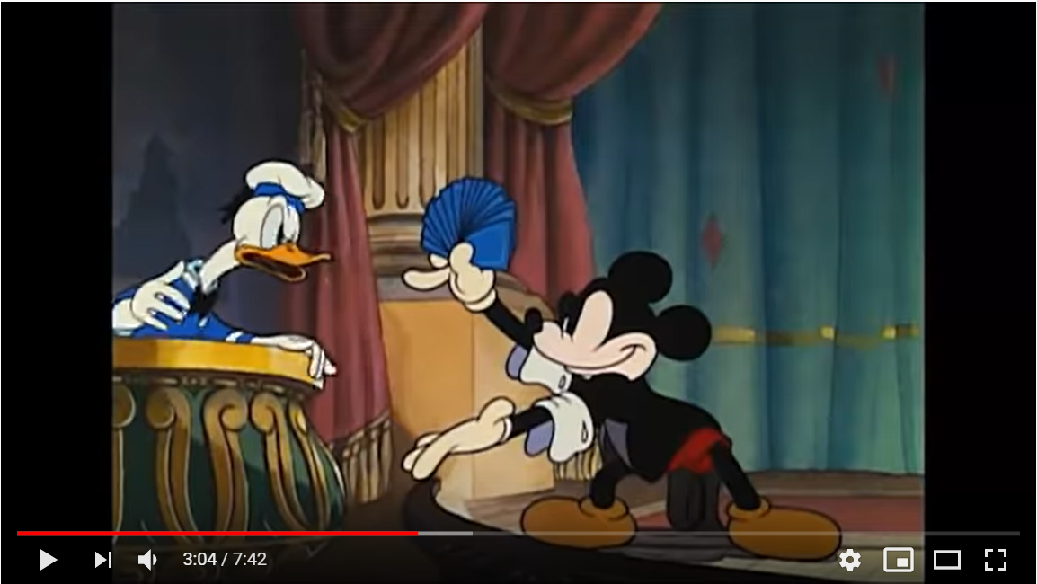 ミッキーの魔術師のシーン2