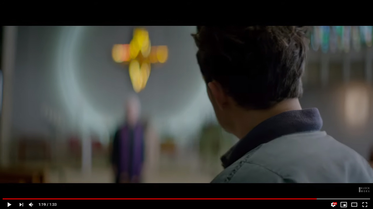 復讐の十字架のシーン2