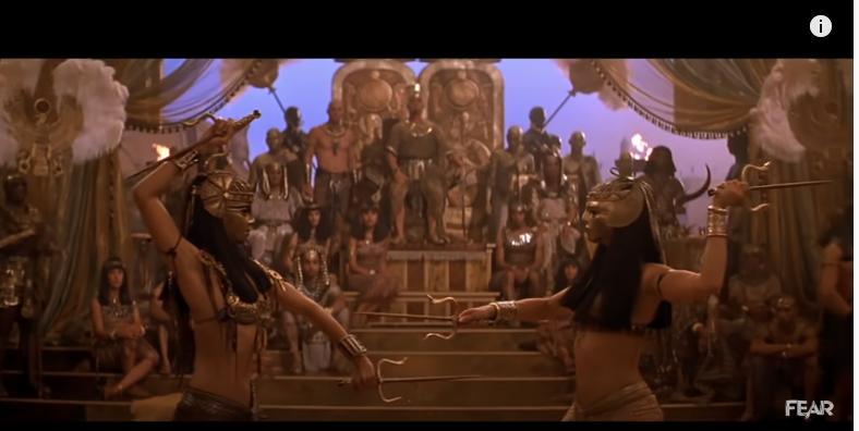 ハムナプトラ2/黄金のピラミッドのシーン3