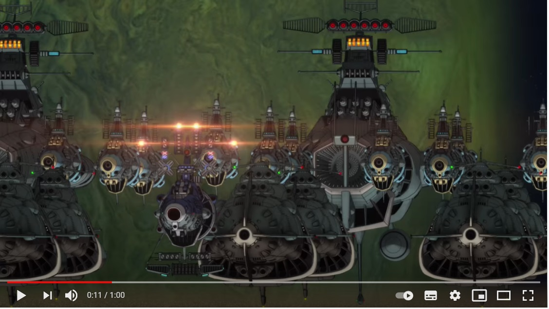 宇宙戦艦ヤマト2202 愛の戦士たち/第五章 煉獄篇のシーン1