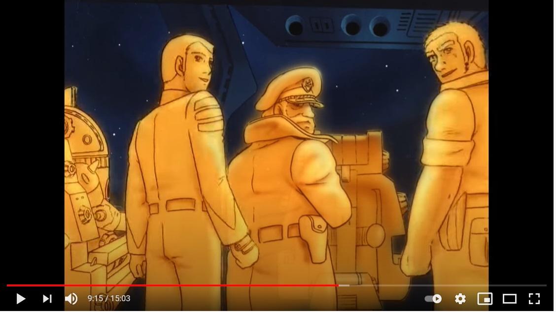 さらば宇宙戦艦ヤマト 愛の戦士たちのシーン4